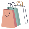 Personal Shopping Bags illustration